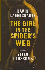 The Girl in the Spider's Web (Millennium Series) by David Lagercrantz