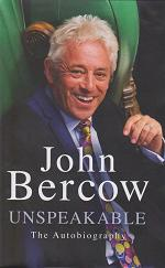 Unspeakable by John Bercow